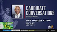 'Candidate Conversations' With Eric Adams This Afternoon