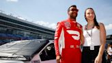 NASCAR Driver Bubba Wallace proposes to longtime girlfriend Amanda Carter