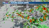 Flash Flood Watch extended as threat for locally heavy rain continues
