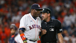 'I blame Fox': Dusty Baker says network responsible for mid-interview homer against Astros