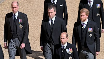 Who Is Peter Phillips, Who Walked Between Prince William and Prince Harry at Philip's Funeral?