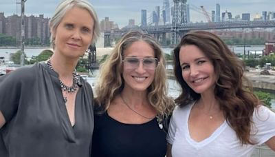 Sarah Jessica Parker Shares Snaps from 'Sex and the City' Revival: 'Together Again'