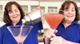 Ina Garten Downing A Giant Cocktail Is A Quarantine Mood