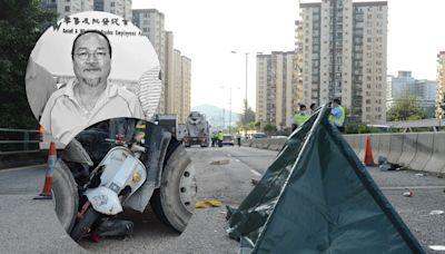 葵涌道車禍六旬前鐘錶工會主席身亡 田螺車司機涉危駕被捕