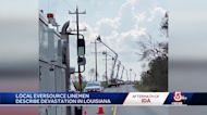 Mass. Eversource crews helping rebuild Louisiana