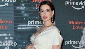 Anne Hathaway Appears to Have Given Birth as She's Spotted Out With Husband Holding a Baby Carrier