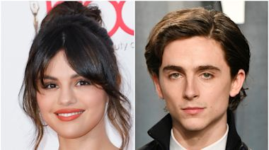 Selena Gomez and Timothée Chalamet Just Went Live on Instagram to Get Out the Vote