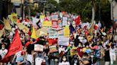 巴西疫情持續惡化 民眾走上街頭抗議政府防疫不力--上報