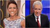 """Robin Roberts pays tribute to Alex Trebek as she becomes latest """"Jeopardy!"""" guest host"""