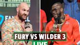 Tyson Fury vs Deontay Wilder 3 date: UK start time, live stream, TV channel