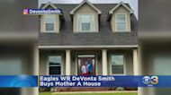 Eagles WR Devonta Smith Surprises Mom With New House