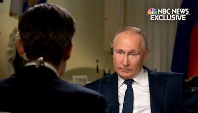 "NBC News Correspondent Keir Simmons Asks Vladimir Putin: ""Are You A Killer?"""