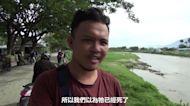 印尼「輪胎項圈」鱷魚消失數月再現 民眾餵活雞 動保團體籲救援