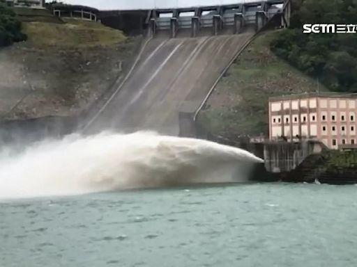 暴雨喝飽飽!全台5水庫滿水位 石門、寶山蓄水率100%