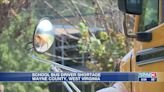 School bus driver shortage impacts local districts