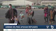 Airbnb helping Afghan refugees