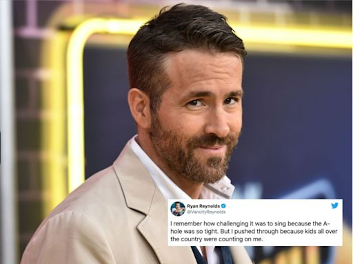 Ryan Reynolds Wore An 'A-hole' Costume On 'Sesame Street' And Things Got Dirty, Fast