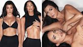 Kourtney accused of photoshopping thigh gap in sexy new underwear pic with Megan