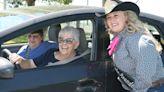 Fun hats, box lunches: Senior Picnic draws crowd for drive-thru