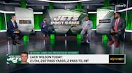 A closer look at Zach Wilson's performance in the OT win against the Titans   Jets Post Game Live
