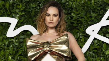 Lily James Just Cancelled 2 Talk Show Interviews After Rumors She Cheated With Dominic West