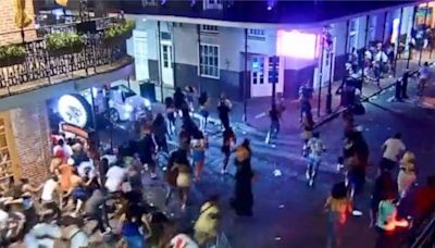 5 shot, panic ensues in the heart of New Orleans' French Quarter