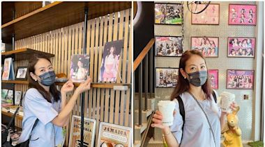 賈永婕朝聖台南咖啡廳同框子瑜 告白:我們全家都愛她