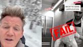 Gordon Ramsay roasted a TikTok chef who cooked his turkey on a can of Guinness