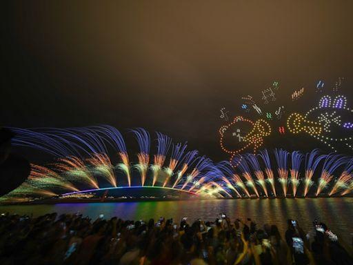 結合LINE精彩綻放 2021澎湖國際海上花火節盛大開幕