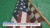 Family upset that school isn't requiring Pledge of Allegiance