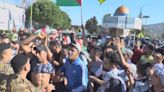 多個中東及歐洲國家有民眾上街聲援巴勒斯坦人