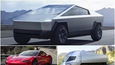 全新電動皮卡帶頭 Tesla 三款新車量產時間表公布! - 自由電子報汽車頻道