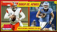 Sam Howell & Baker Mayfield -- UNC's Mack Brown sees the some similarities