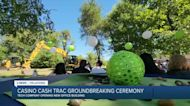 CASINO CASH TRAC GROUNDBREAKING CEREMONY FOR NEW OFFICE BUILDING