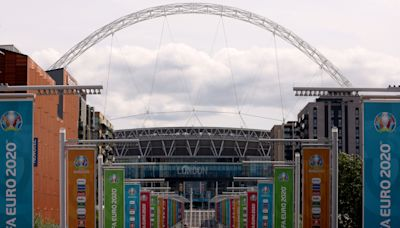 Fan in 'serious condition' after falling from Wembley stands during England game