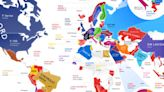 These Maps Show The Most Popular Car In Every Country