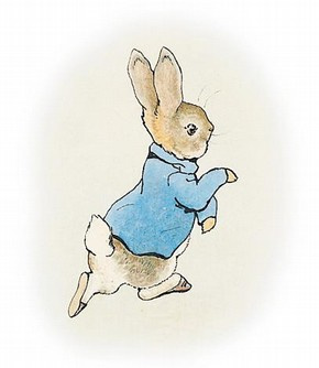 Original illustration for 'The Tale of Peter Rabbit', Beatrix Potter ...