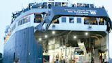SS Badger makes final Lake Michigan crossing of year