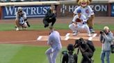 Conor McGregor is mad people are comparing his 50 Cent-esque first pitch to 50 Cent