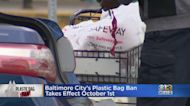 Baltimore City's Plastic Bag Ban Takes Effect October 1st
