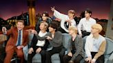 James Corden referred to BTS fans as '15-year-old girls' and said it was 'unusual' that the group sang at the UN, but they've been twice before