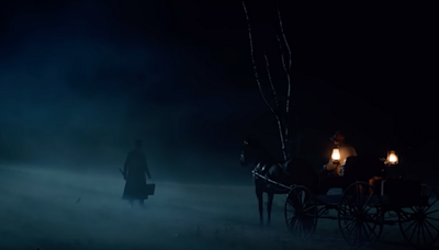 Watch Adrien Brody cut his nose to spite his face in the trailer for Stephen King's Chapelwaite