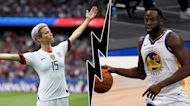 The Rush: Rapinoe rips Draymond, Allen's vaccine concerns and Shaq saves the day!