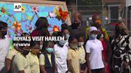 Royals visit Harlem school