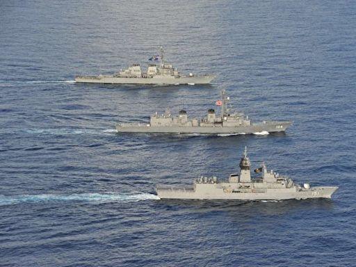 美日澳法軍演准航母出動 演練登陸巷戰引猜測