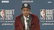 Nets draft pick Cam Thomas in love with team | 2021 NBA Draft News Conference