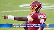 Reports: Former Washington QB Dwayne Haskins To Visit Steelers