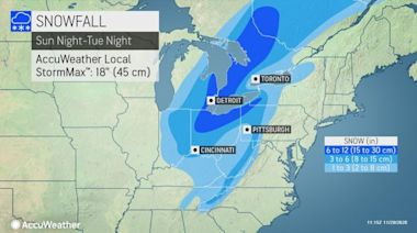 Dynamic storm to drop heavy snow, unleash powerful winds across eastern US