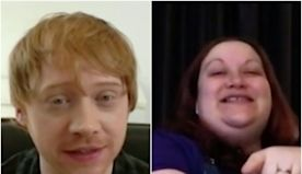 Dad-to-be Rupert Grint surprised a midwife via video chat and thanked her for her 'Gryffindor behavior'