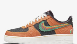 The New Nike Air Force 1 Día de Muertos 'Siempre Familia' Sneaker Honors the Traditions of Mexican Culture